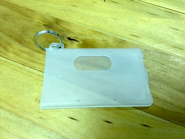 Opaque Closed-Face Access Card Holder
