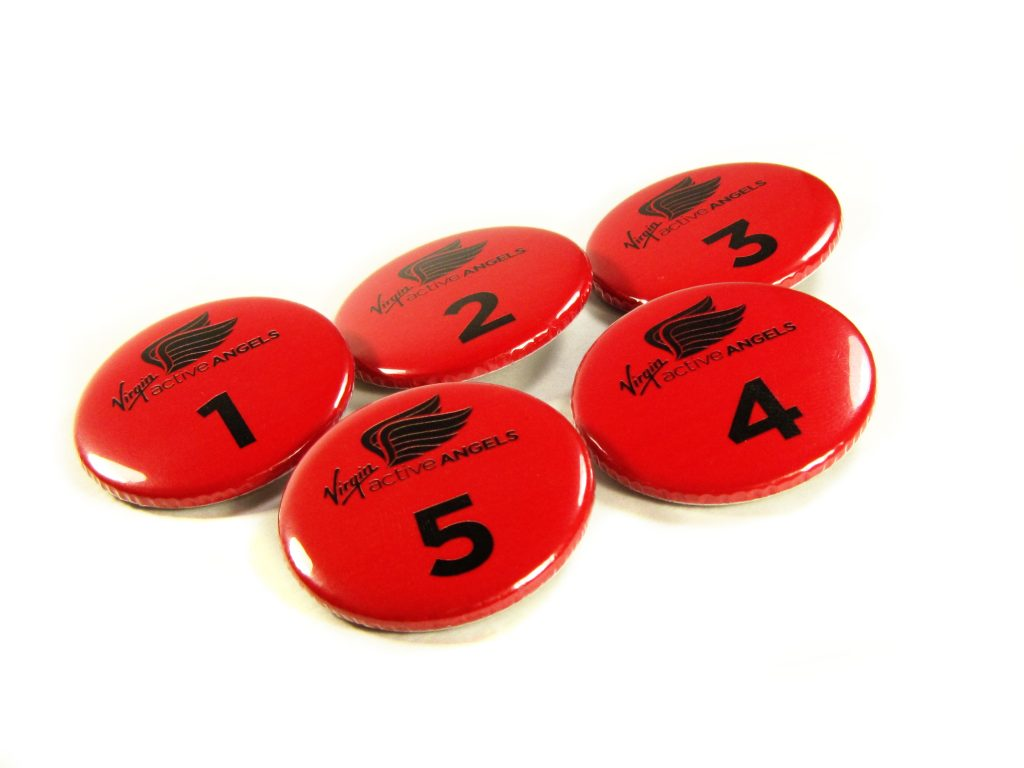 37mm Button Badges Active Angels