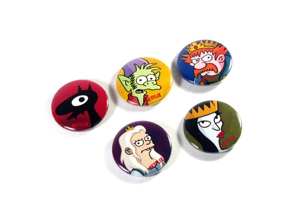 37mm Button Badges | Netflix