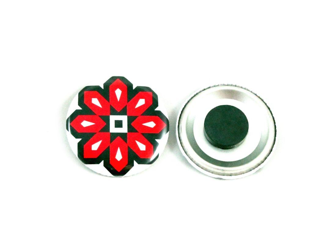 37mm Button Fridge Magnet | Vida