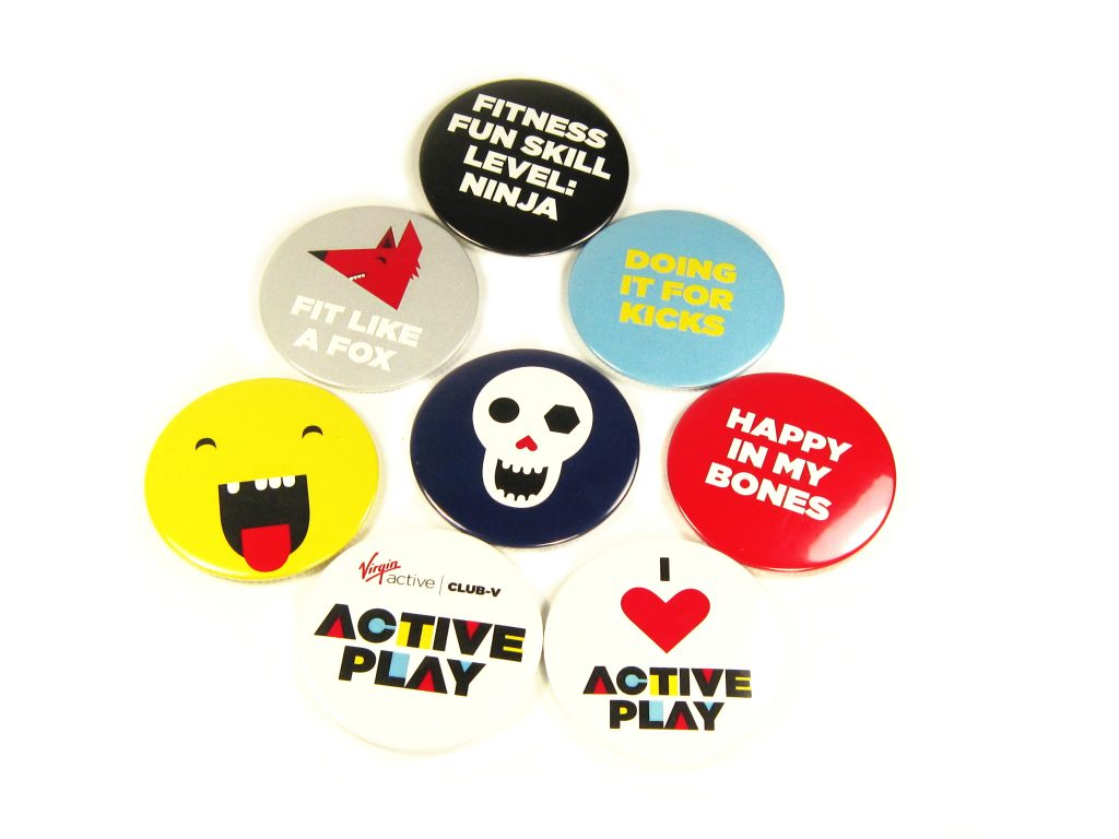 56mm Button Magnets (Virgin Active)