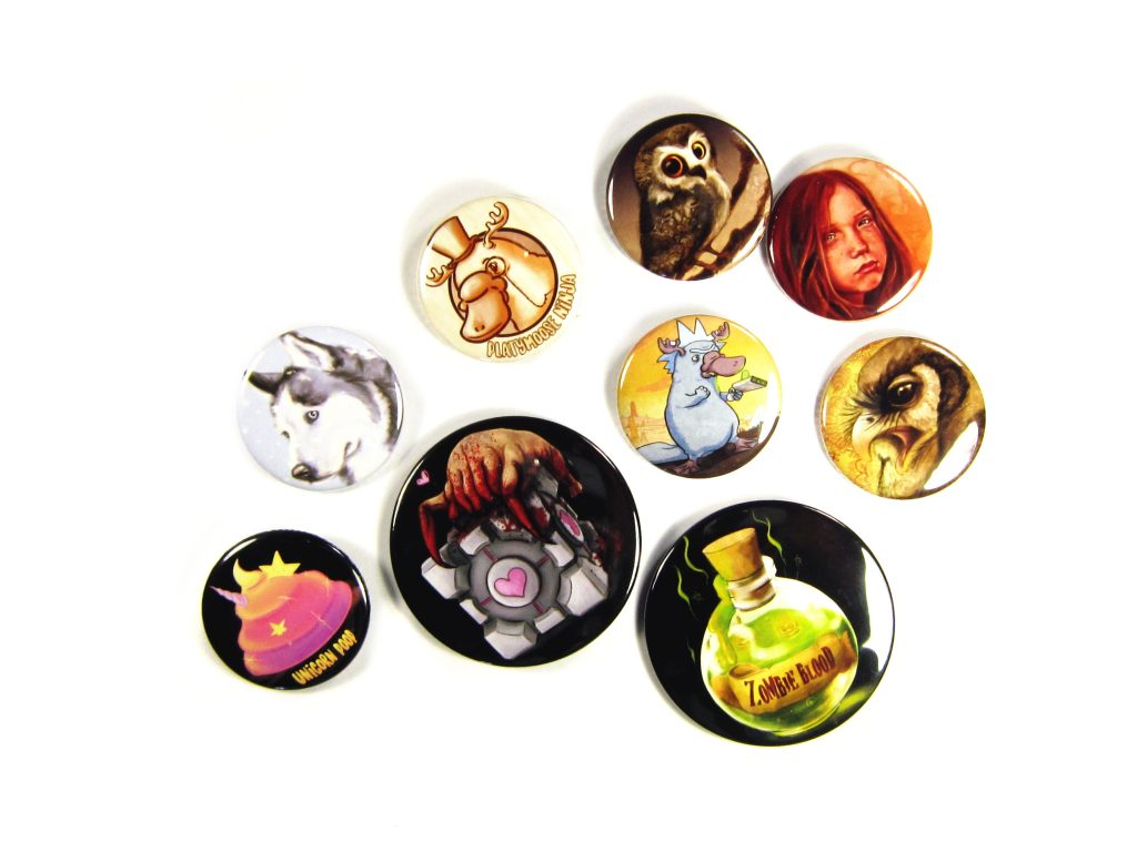 PP Samples | Button Badges | Platymoose